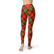 Tonya Red Green Plaid