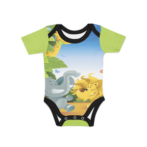 Infant Safari Dance Onesie,Preemie / Multicolored / Buttersoft