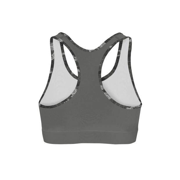 2acf32ea1e Black Hex Camo Back Color Sports Bra