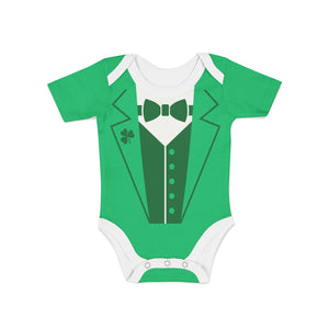 Infant Leprechaun Suit Onesie,Preemie / Multicolored / Buttersoft