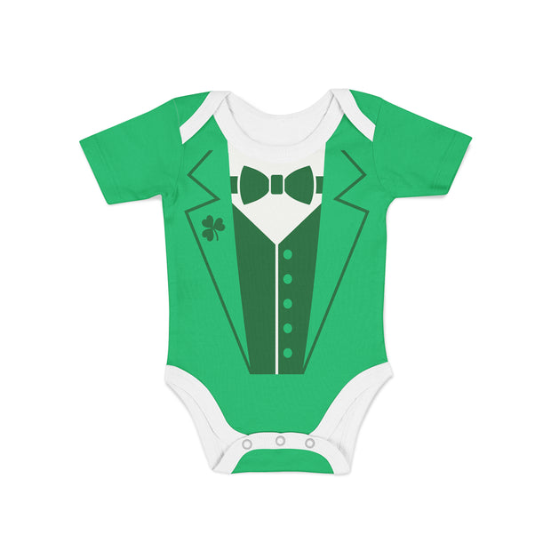 Infant Leprechaun Suit Onesie
