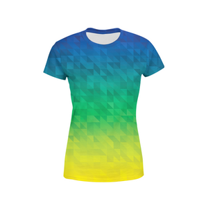 Women's Beach Triangles T-Shirt