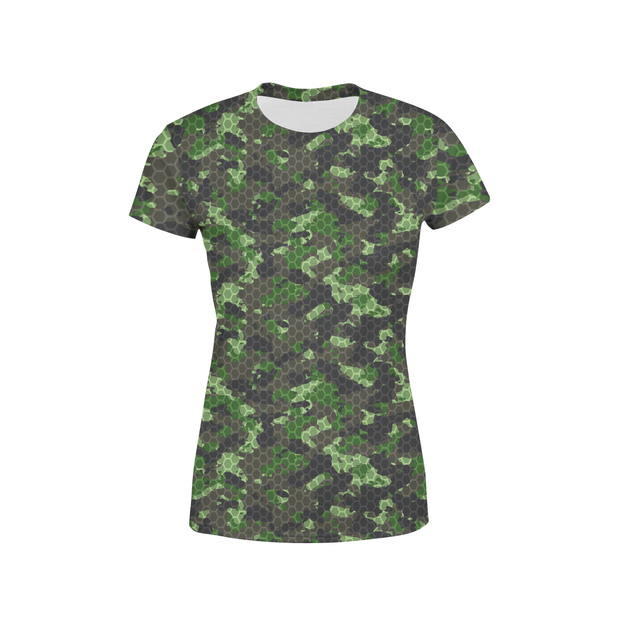 Women's Army Hex Camo T-Shirt