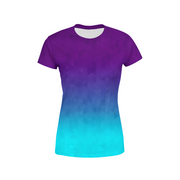 Women's Deep Sea Triangles T-Shirt