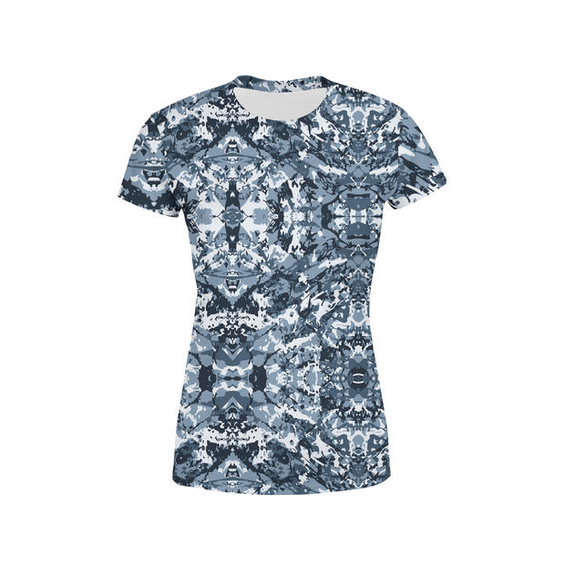 Women's Navy Camo T-Shirt