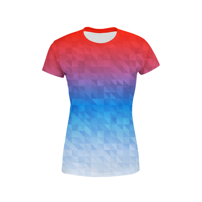 Women's Mixed Triangles T-Shirt