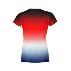 Women's Patriotic Triangles T-Shirt