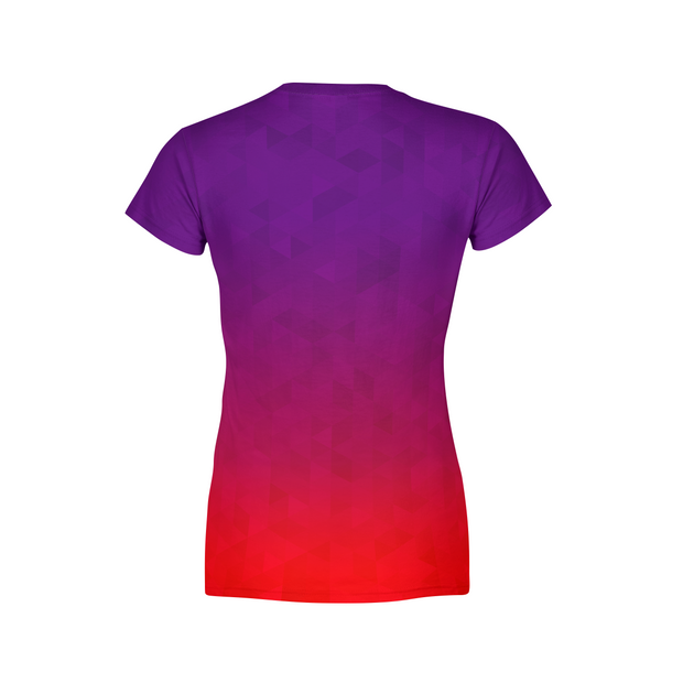 Women's Stained Triangles T-Shirt