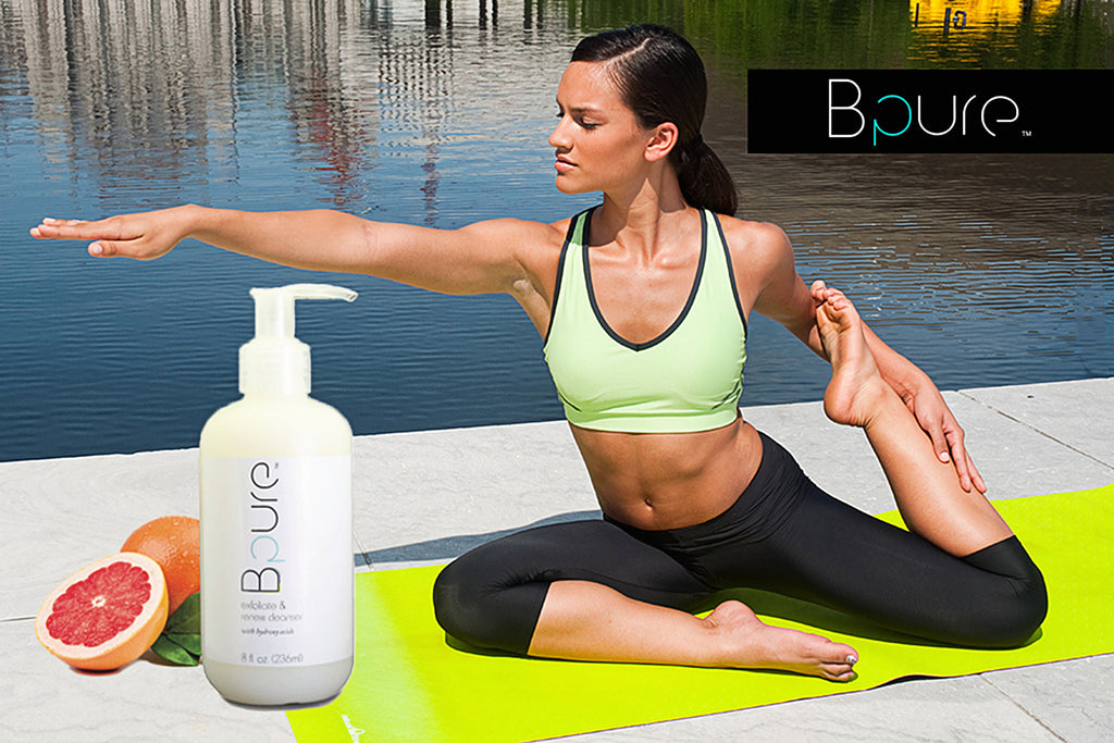 renew cleanser bpure bpureco yoga