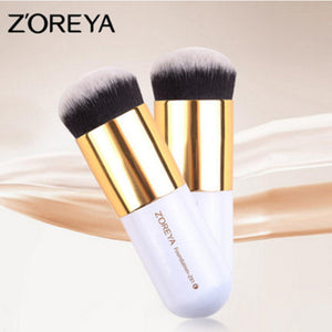 ZOREYA Brand Round Foundation Brush BB Cream Concealer Make Up Brush Beauty Makeup Tool