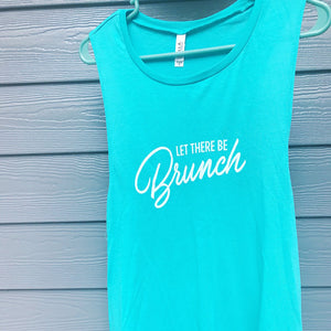 """let there be brunch"" tank"