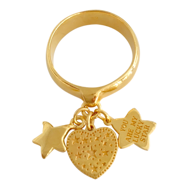 Ring Paris Lucky Star Gold
