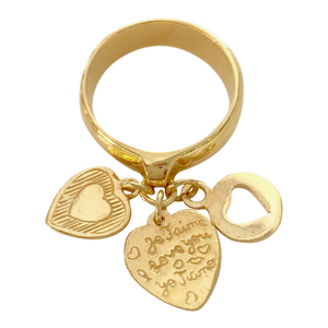 Ring Paris Ti Amo Gold