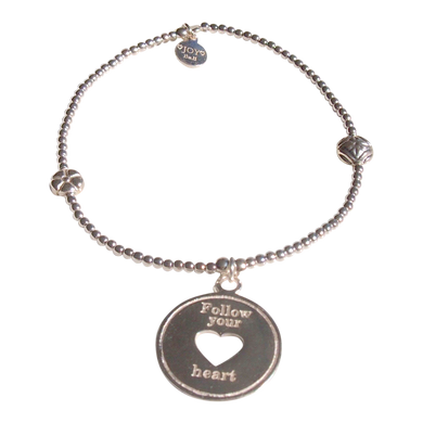 Bracelet Bamba Follow Your Heart - Joy Jewellery Bali