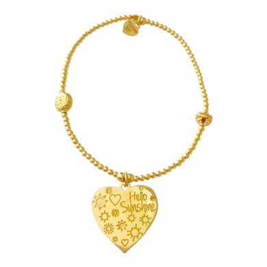 Bracelet Bamba Hello Sunshine Gold - Joy Jewellery Bali