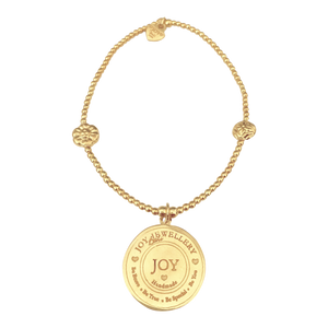 Bracelet Bamba Joy logo Gold - Joy Jewellery Bali