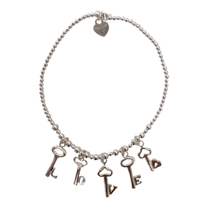 Bracelet Buzios Love is the key - Joy Jewellery Bali