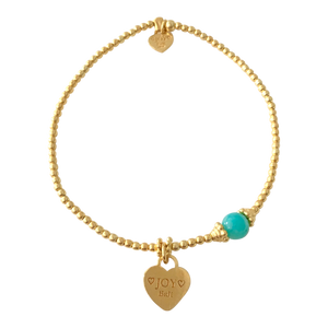 Bracelet Marlin Joy Amazonite Gold - Joy Jewellery Bali
