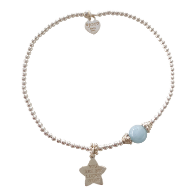 Bracelet Marlin Lucky Star Aquamarine - Joy Jewellery Bali