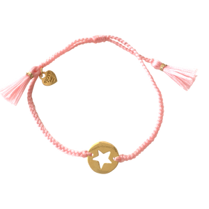 Bracelet Santa Lucia Star Soft Pink Gold - Joy Jewellery Bali