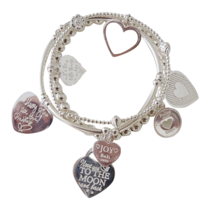 Bracelet Set 3 Corazon - Joy Jewellery Bali