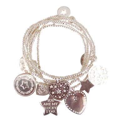Bracelet Set 7 Lucky Star - Joy Jewellery Bali