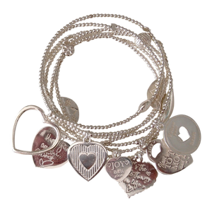 Bracelet Set 7 Corazon - Joy Jewellery Bali