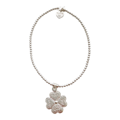 Bracelet Tiny Wishes Four Clover - Joy Jewellery Bali