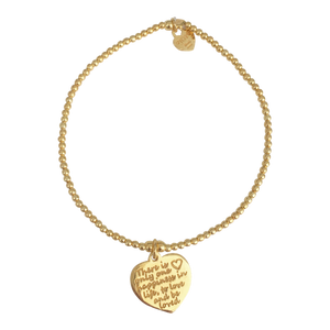 Bracelet Tiny Wishes Happiness Gold - Joy Jewellery Bali
