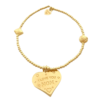Bracelet Bamba I love you Mom Gold - Joy Jewellery Bali