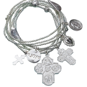 Bracelet Set 7 Faith - Joy Jewellery Bali
