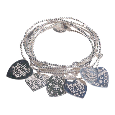 Bracelet Set 7 Sparkle - Joy Jewellery Bali