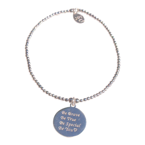 Bracelet Tiny Wishes Be Brave - Joy Jewellery Bali