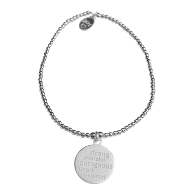 Bracelet Tiny Wishes Be Strong - Joy Jewellery Bali
