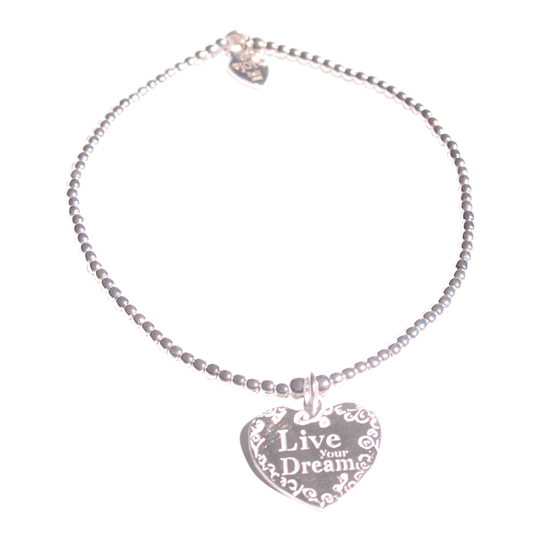 Bracelet Tiny Wishes Live Your Dream - Joy Jewellery Bali