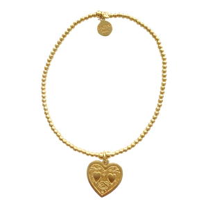 Bracelet Tiny Wishes Boda Gold - Joy Jewellery Bali