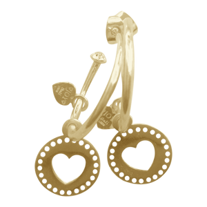 Earring Bonita Querido Gold - Joy Jewellery Bali
