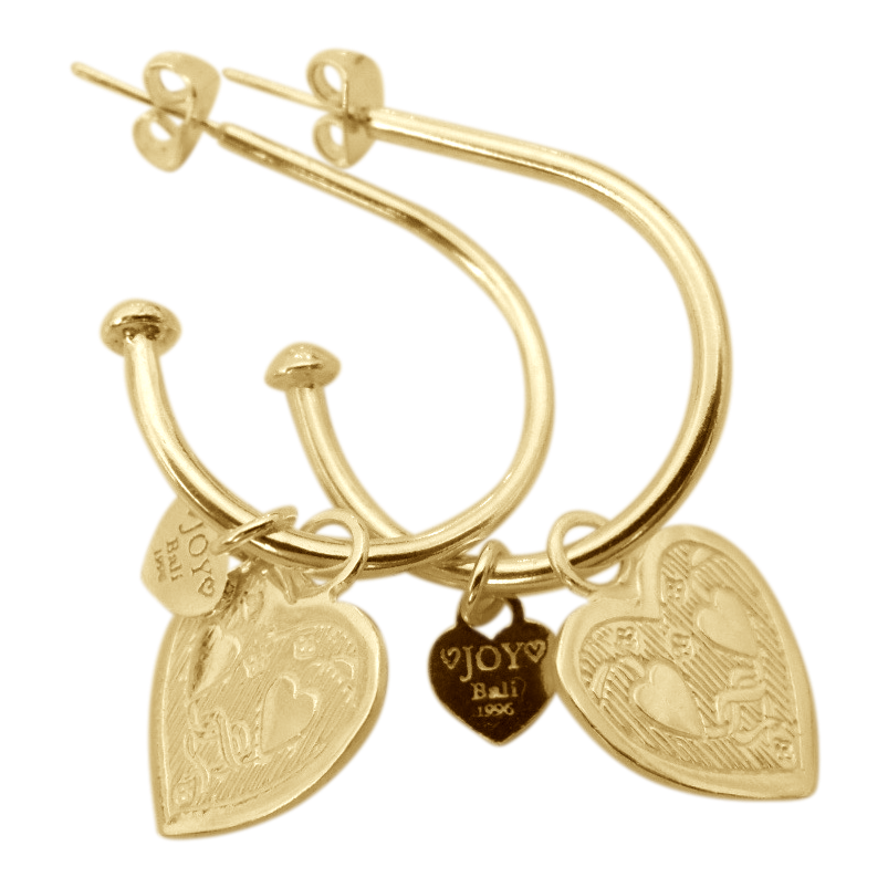 Earring Pipa Boda Gold - Joy Jewellery Bali