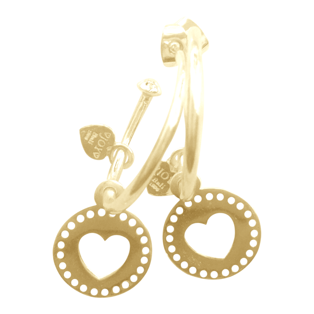 Earring Pipa Querido Gold - Joy Jewellery Bali