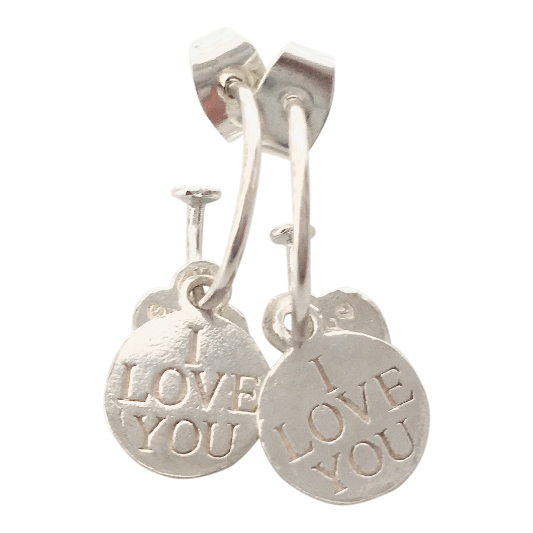 Earring Bonita I love you - Joy Jewellery Bali