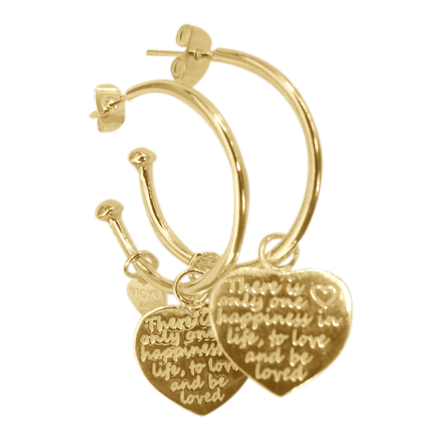 Earring Pipa Happiness Gold - Joy Jewellery Bali