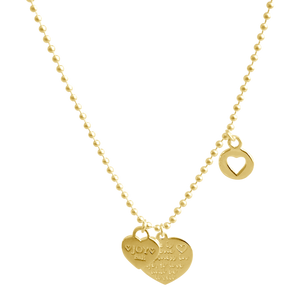 Necklace Jezebel Happiness Gold - Joy Jewellery Bali