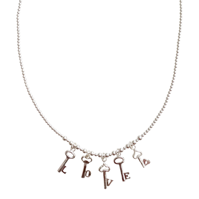 Necklace Buzios Love is the key - Joy Jewellery Bali