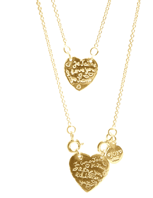 Necklace Capri Ti amo Gold - Joy Jewellery Bali