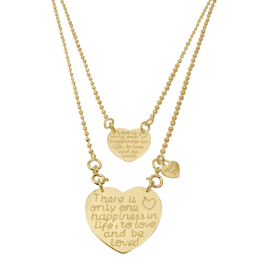 Necklace Sintra Happiness Gold - Joy Jewellery Bali