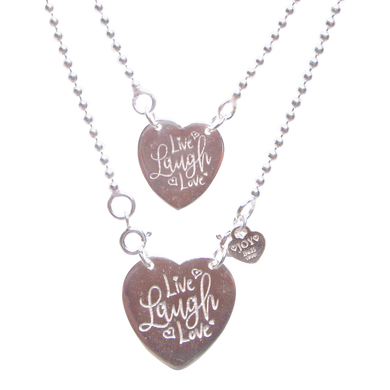 Necklace Sintra Live Laugh Love - Joy Jewellery Bali