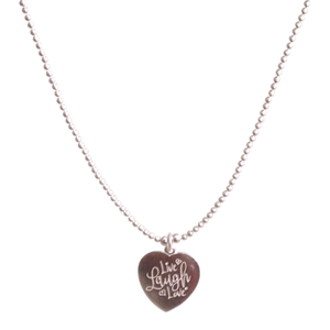 Necklace Tarquina Live Laugh Love - Joy Jewellery Bali