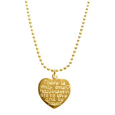 Necklace Indy Happiness Gold - Joy Jewellery Bali