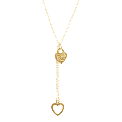 Necklace Ipanema To the Moon Gold - Joy Jewellery Bali