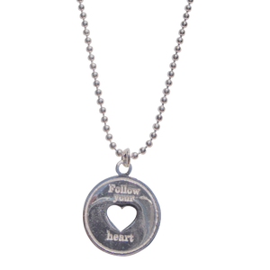 Necklace Indy Follow Your Heart - Joy Jewellery Bali